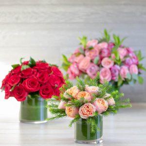 1, 2, 4 Dozen Roses - Tres Chic