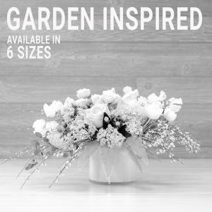 Garden Inspired Arrangements